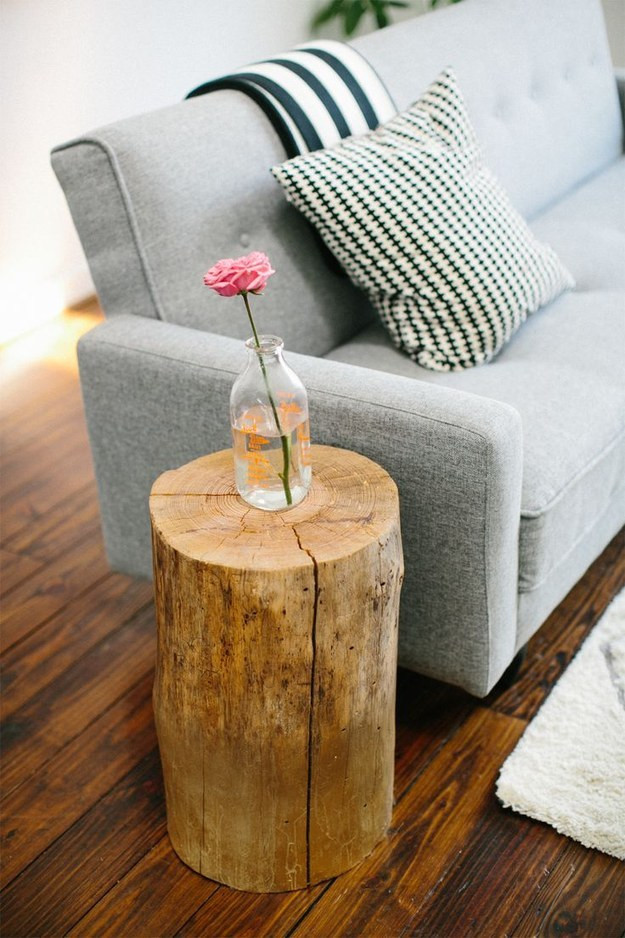 Best ideas about DIY Tree Stump Table . Save or Pin Magical DIY Tree Stump Table Ideas That Will Transform Now.