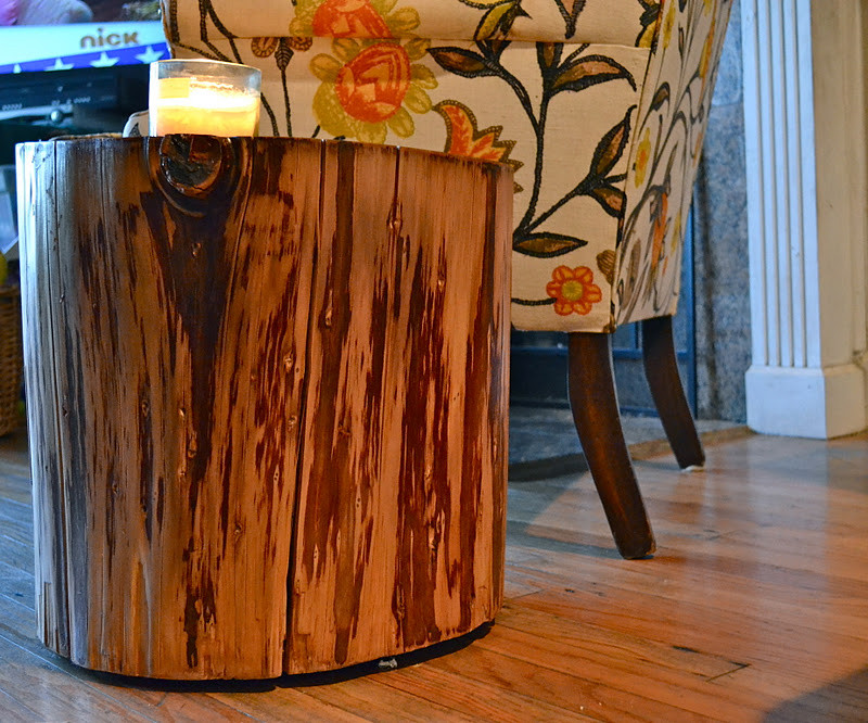 Best ideas about DIY Tree Stump Table . Save or Pin Restyle Restore Rejoice DIY Tree Stump Side Table Now.