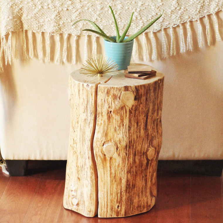 Best ideas about DIY Tree Stump Table . Save or Pin DIY Now.