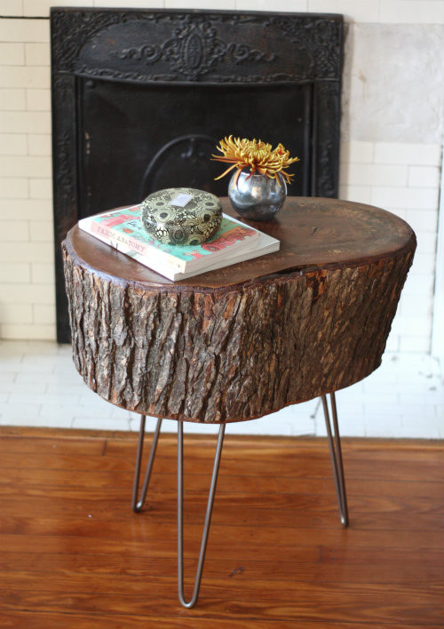 Best ideas about DIY Tree Stump Table . Save or Pin How To DIY Stump Table Now.