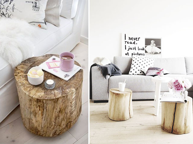 Best ideas about DIY Tree Stump Table . Save or Pin DIY Home Inspo Tree Stump Coffee Tables Now.