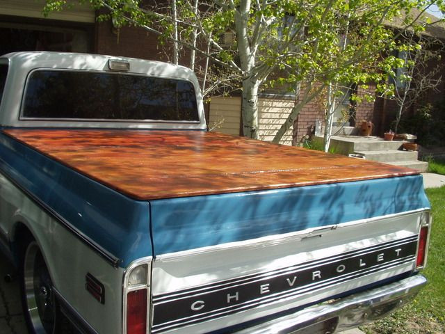 Best ideas about DIY Truck Bed Covers . Save or Pin Homemade Tonneau Cover The 1947 Present Chevrolet Now.
