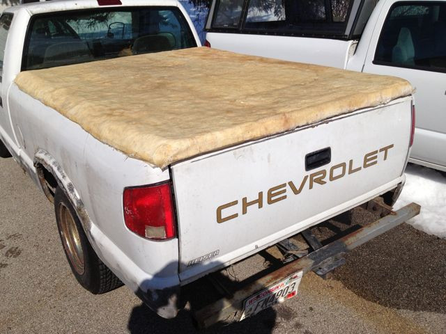 Best ideas about DIY Truck Bed Covers . Save or Pin DIY Tonneau Cover works great still ugly 300MPG Now.