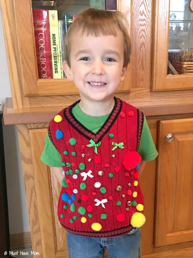 Best ideas about DIY Ugly Christmas Sweater For Kids . Save or Pin How To Host An Ugly Christmas Sweater Party Must Have Mom Now.
