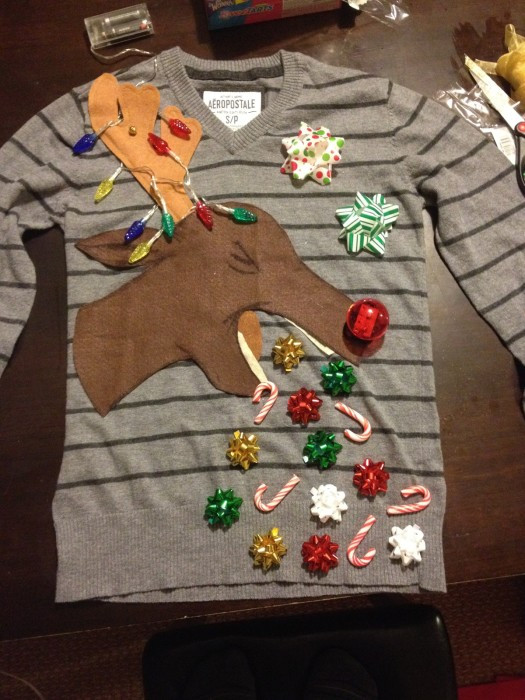 Best ideas about DIY Ugly Christmas Sweater For Kids . Save or Pin 53 DIY Ugly Christmas Sweater Ideas Now.