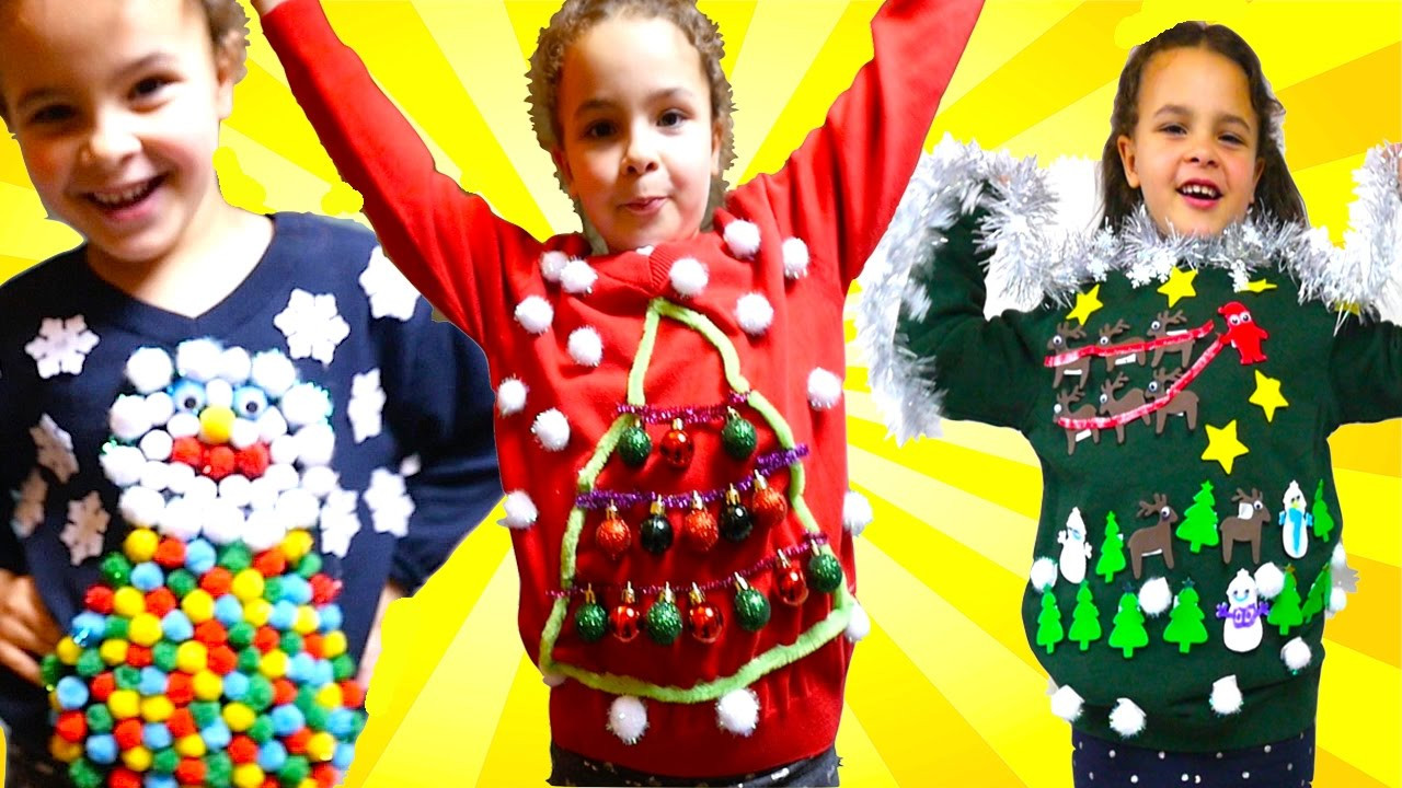 Best ideas about DIY Ugly Christmas Sweater For Kids . Save or Pin DIY UGLY Christmas Jumper For Save The Children Christmas Now.