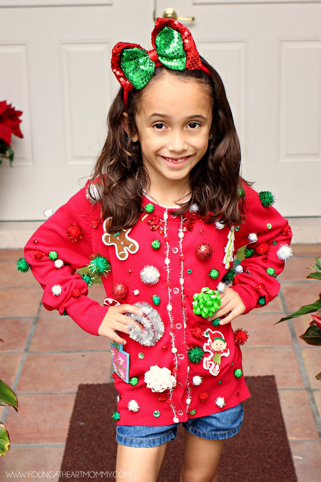 Best ideas about DIY Ugly Christmas Sweater For Kids . Save or Pin Ugly Sweater GoGo squeeZ AppleSauce Pouches Young At Now.