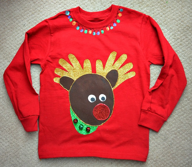 Best ideas about DIY Ugly Christmas Sweater For Kids . Save or Pin 20 Reindeer Crafts for Kids Dragonfly Designs Now.