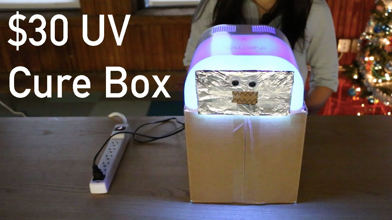 Best ideas about DIY Ultraviolet Light . Save or Pin UV Cure Box for under $30 DIY Now.