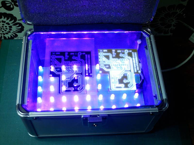 Best ideas about DIY Ultraviolet Light . Save or Pin DIY UV Exposure box for DIY PCBs DIY Now.