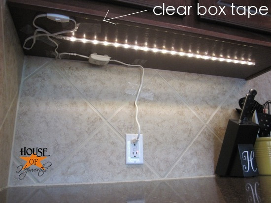 Best ideas about DIY Under Cabinet Led Lighting . Save or Pin The finale to the under cabinet lighting debacle House Now.