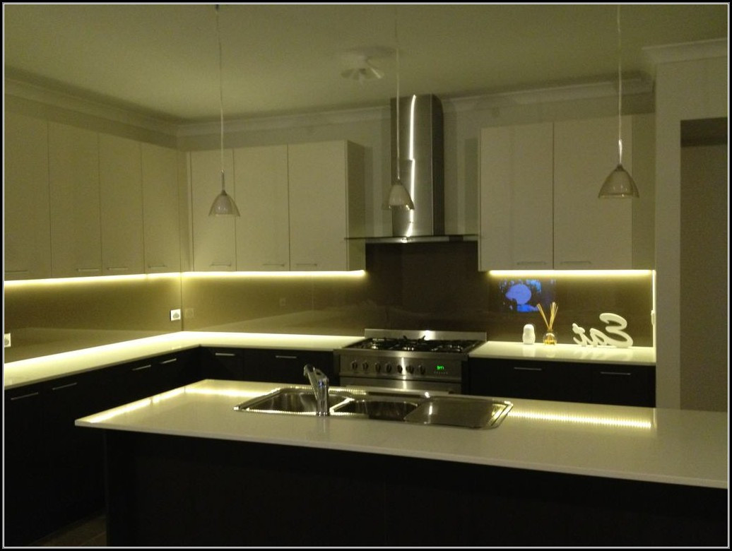 Best ideas about DIY Under Cabinet Led Lighting . Save or Pin Diy Led Strip Cabinet Lighting DIY Projects Now.