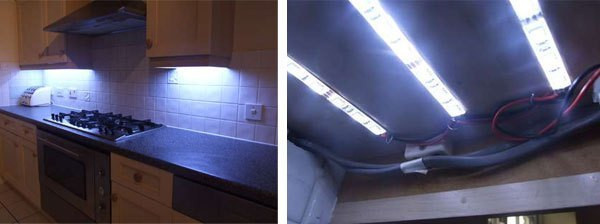 Best ideas about DIY Under Cabinet Led Lighting . Save or Pin DIY under cabinet LED lighting Now.