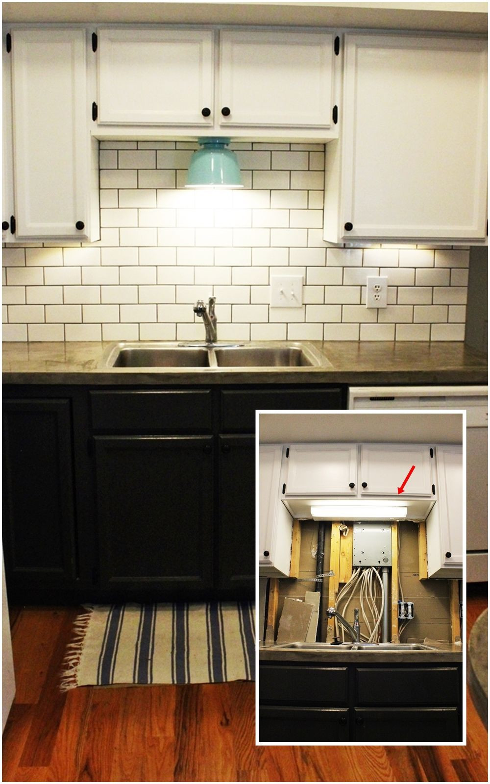 Best ideas about DIY Under Cabinet Led Lighting . Save or Pin DIY Kitchen Lighting Upgrade LED Under Cabinet Lights Now.