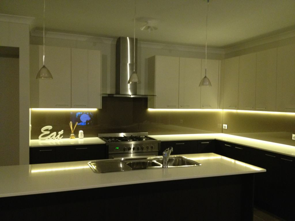 Best ideas about DIY Under Cabinet Led Lighting . Save or Pin Led Strip Under Cabinet Lighting Diy Now.