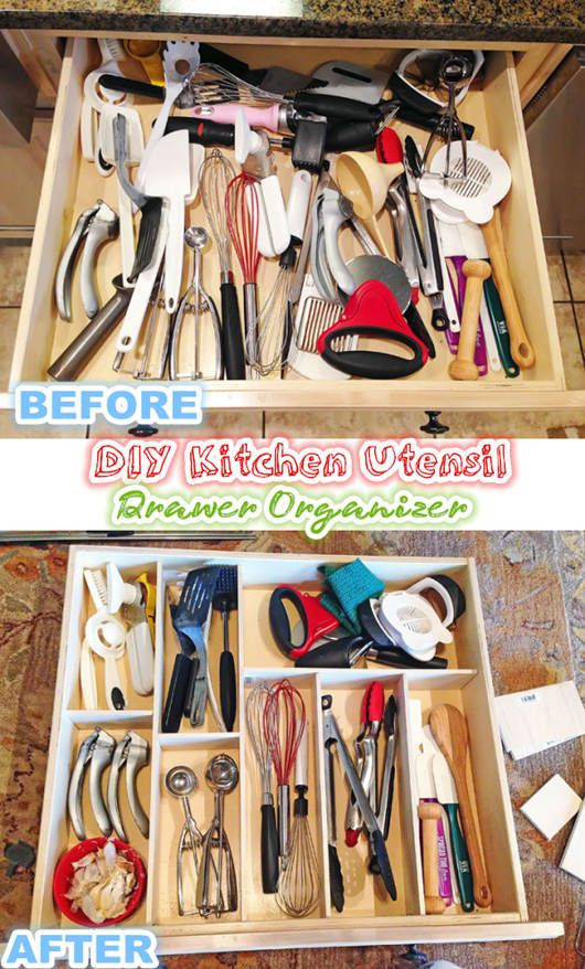 Best ideas about DIY Utensil Organizer . Save or Pin 17 Best images about Diy & Home & Garden on Pinterest Now.