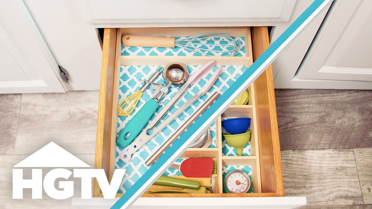 Best ideas about DIY Utensil Organizer . Save or Pin DIY Utensil Drawer Organizer HGTV Now.