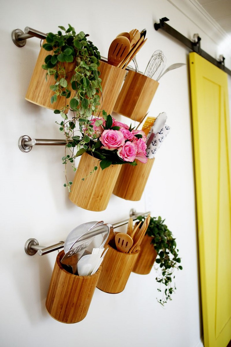 Best ideas about DIY Utensil Organizer . Save or Pin Top 10 Best DIY Kitchen Utensil Holders Top Inspired Now.