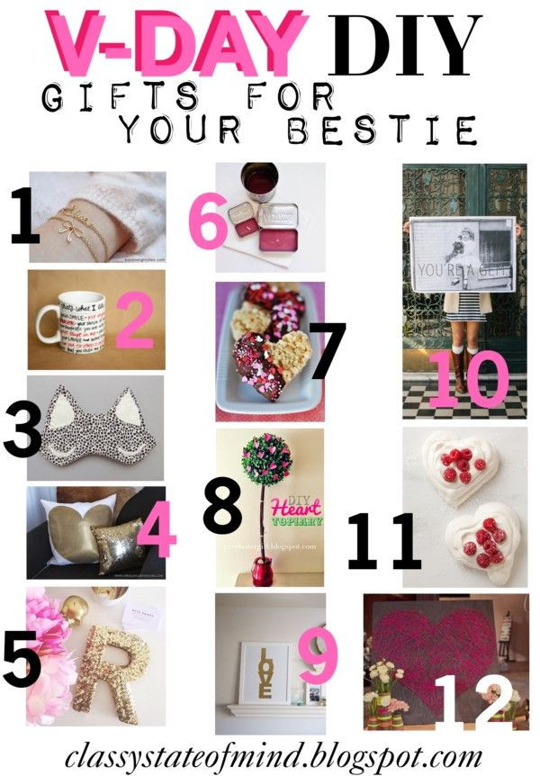 Best ideas about DIY Valentine Gift For Friends . Save or Pin by Classy State of Mind Now.