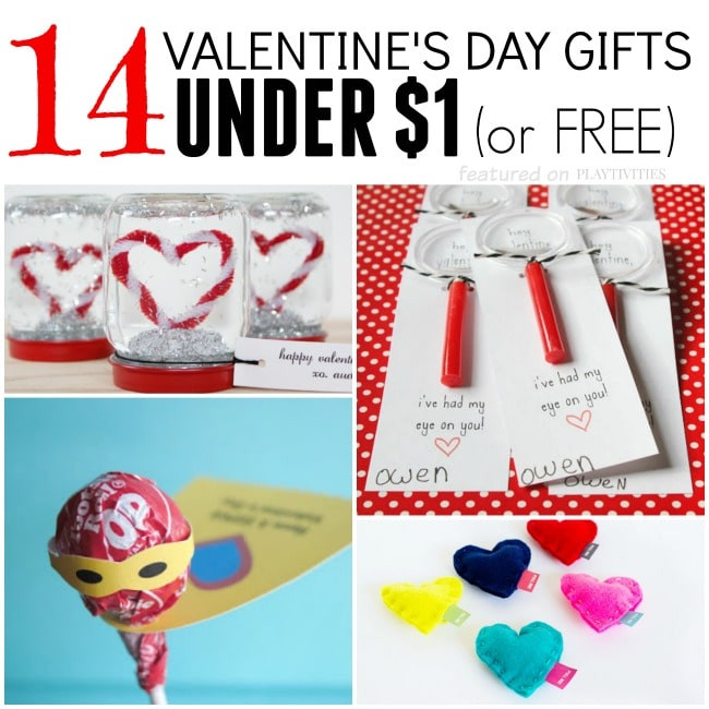 Best ideas about DIY Valentine Gift For Friends . Save or Pin 14 Homemade Valentine Gifts For Under $1 PLAYTIVITIES Now.