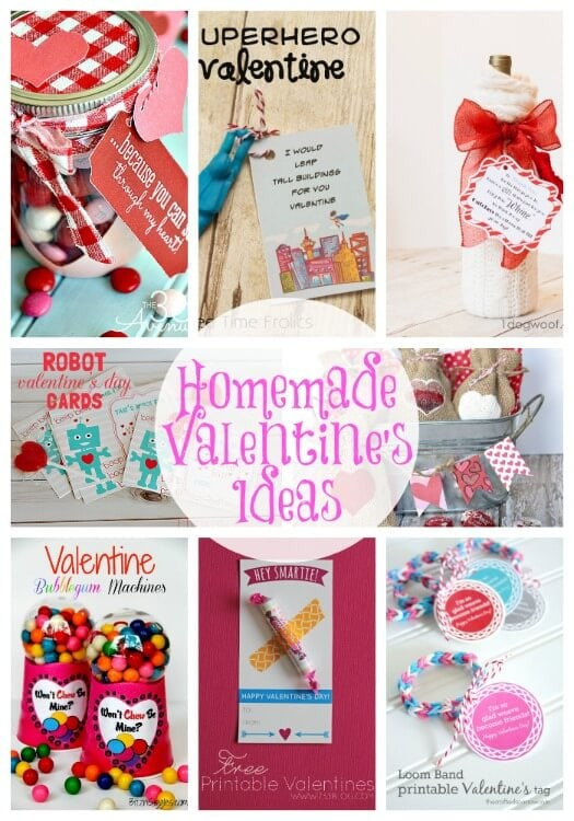 Best ideas about DIY Valentine Gift For Friends . Save or Pin 20 Handmade Valentine s Ideas Link Party Features I Now.