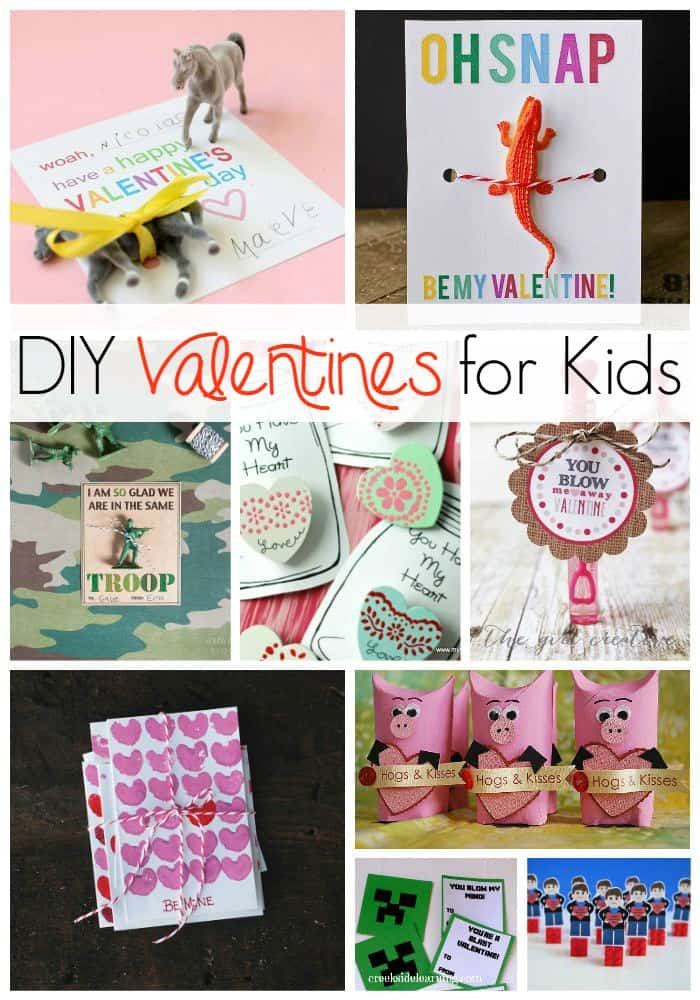 Best ideas about DIY Valentines For Kids . Save or Pin DIY Valentines for kids to make and give Now.