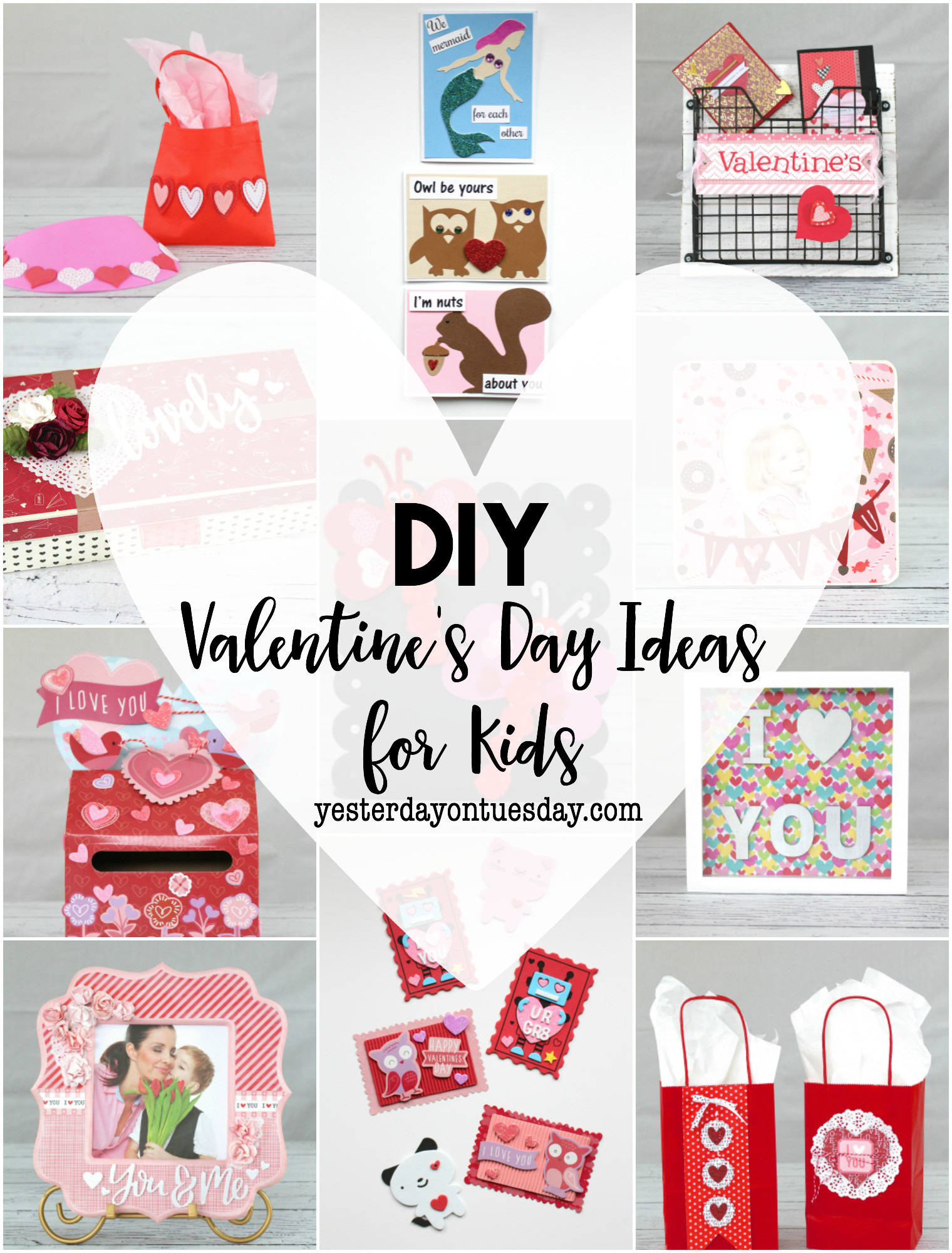 Best ideas about DIY Valentines For Kids . Save or Pin DIY Valentine s Day Ideas for Kids Now.