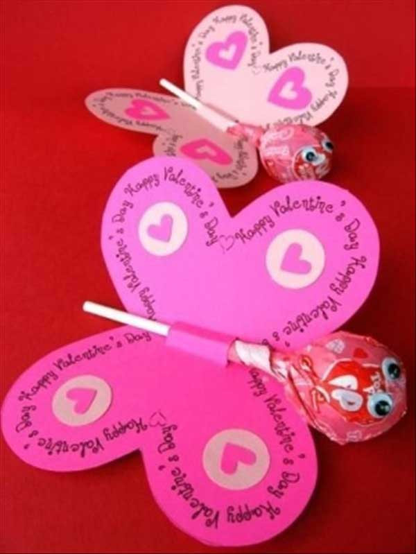 Best ideas about DIY Valentines For Kids . Save or Pin 30 Fun and Easy DIY Valentines Day Crafts Kids Can Make Now.