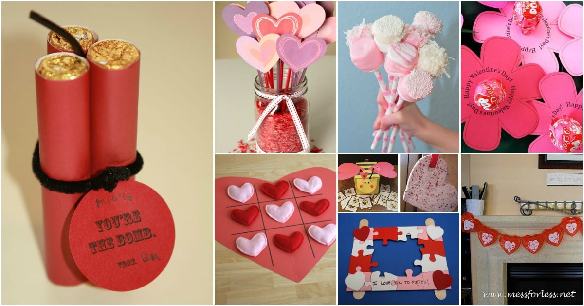Best ideas about DIY Valentines For Kids . Save or Pin 20 Adorable And Easy DIY Valentine s Day Projects For Kids Now.