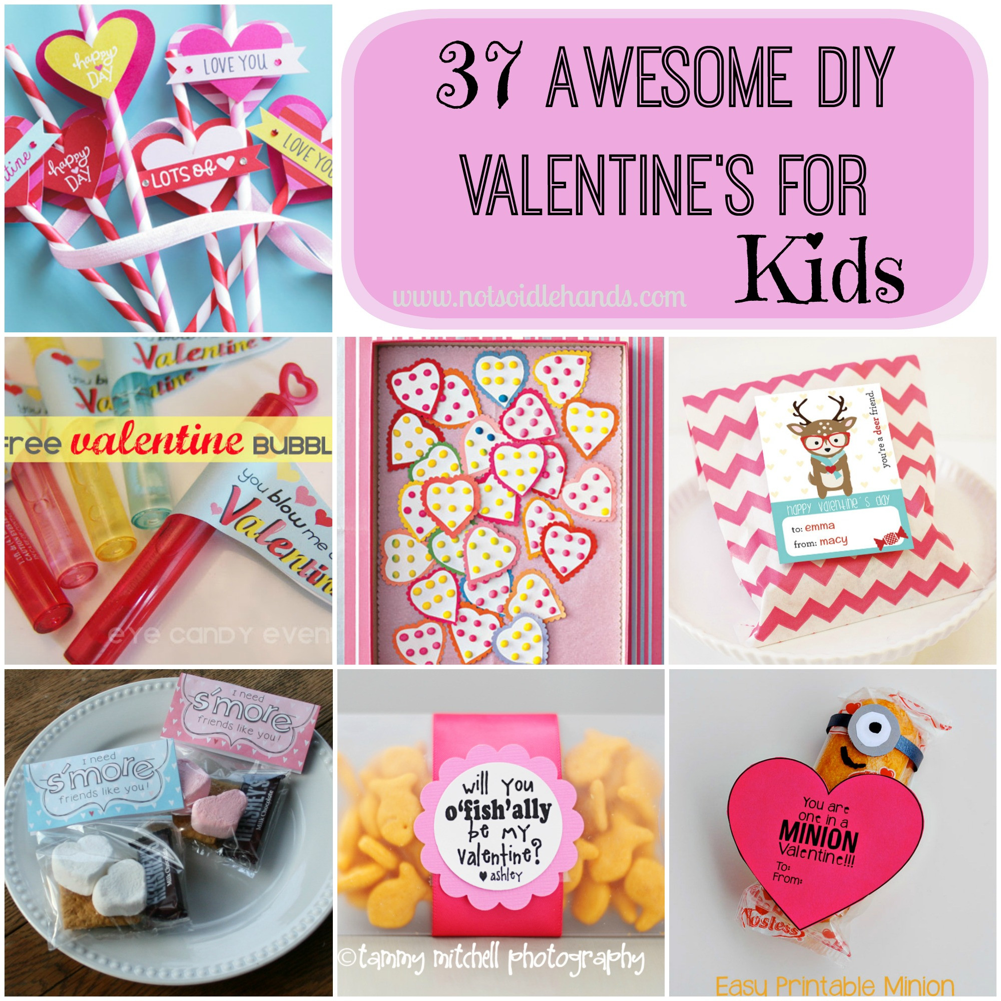 Best ideas about DIY Valentines For Kids . Save or Pin 37 Awesome DIY School Valentine's for Kids Now.