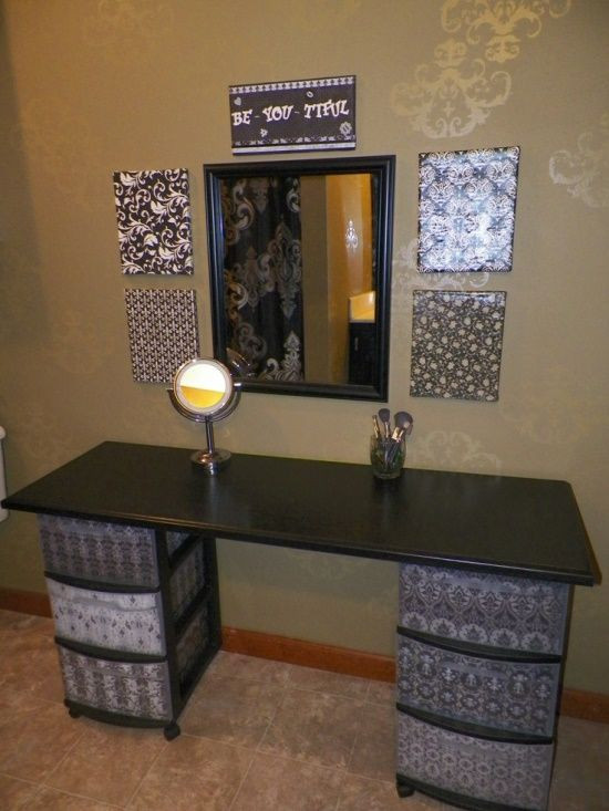 Best ideas about DIY Vanity Table Plans . Save or Pin 51 Makeup Vanity Table Ideas Ultimate Home Ideas Now.