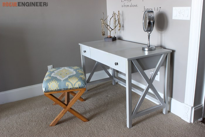 Best ideas about DIY Vanity Table Plans . Save or Pin Ana White Now.