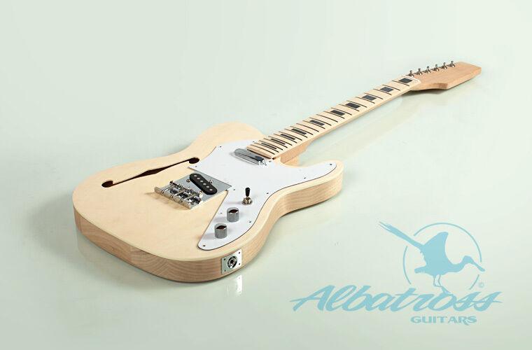 Best ideas about DIY Veneer Kit . Save or Pin DIY Semi Hollow Body Mahogany Bolt Electric Guitar Kit Now.