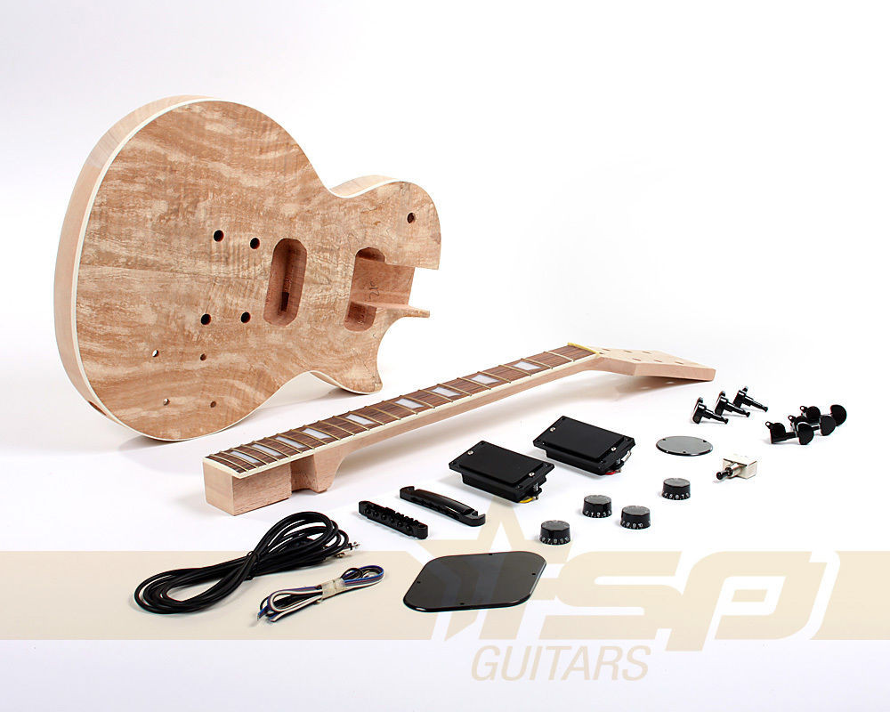 Best ideas about DIY Veneer Kit . Save or Pin Solid Body DIY Electric Guitar Project Builder Kit Now.