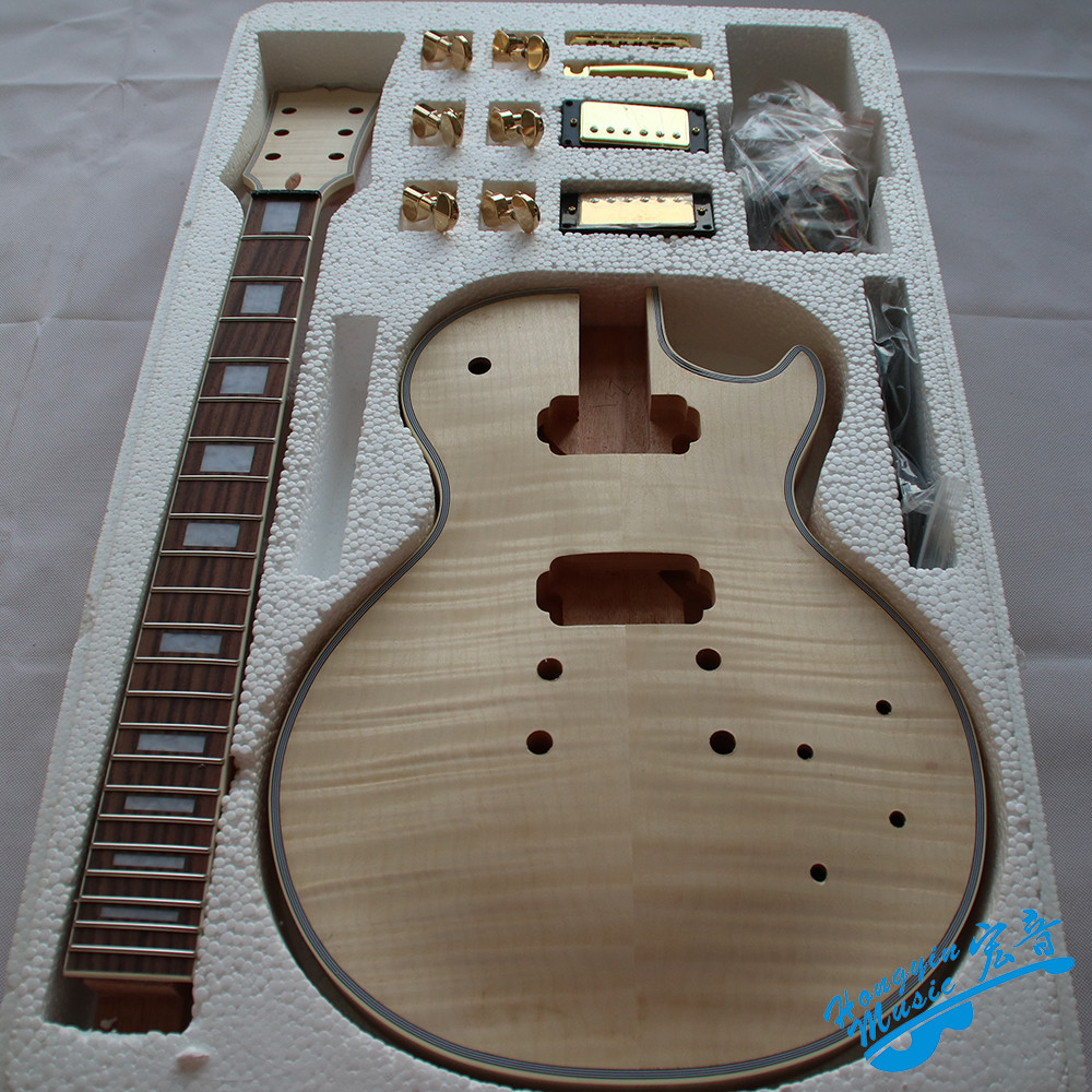 Best ideas about DIY Veneer Kit . Save or Pin Tiger Pattern 3A Grade Maple Veneer LP Style Electric Now.