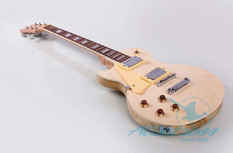 Best ideas about DIY Veneer Kit . Save or Pin DIY Paulowina Left Electric Guitar Kit Flamed Maple Veneer Now.