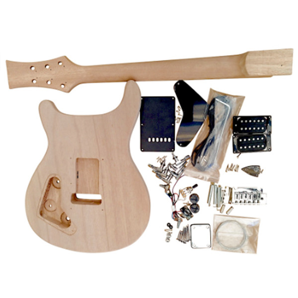 Best ideas about DIY Veneer Kit . Save or Pin Electric Guitar DIY Kit Mahogany body with Spalted Maple Now.