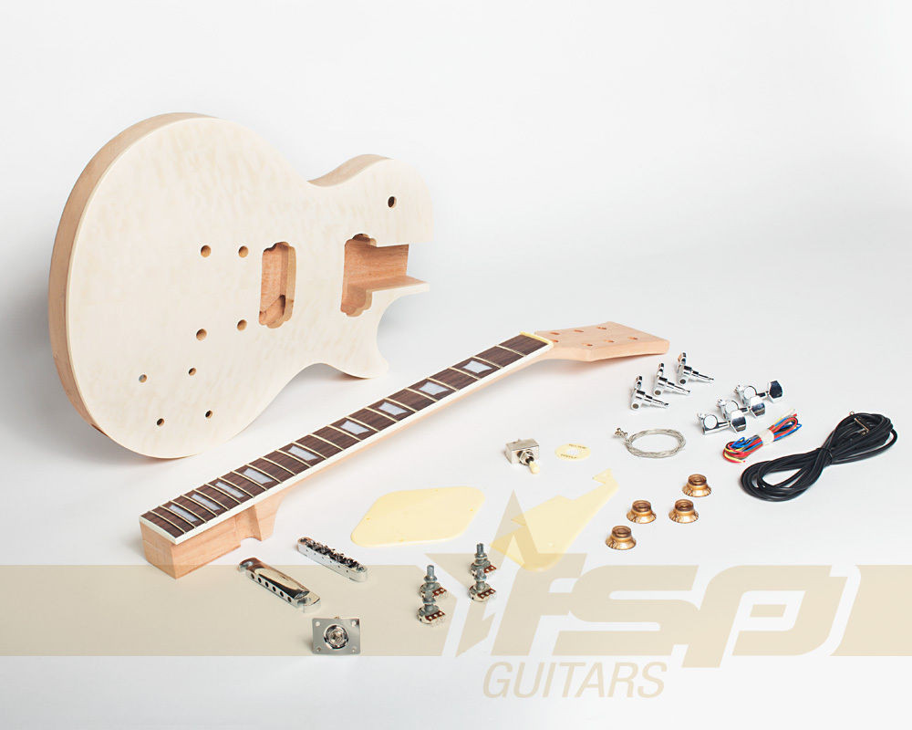 Best ideas about DIY Veneer Kit . Save or Pin Solid Body DIY Mahogany Electric Guitar Builder Kit with Now.