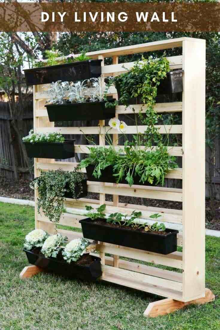 Best ideas about Diy Vertical Garden Wall . Save or Pin 20 DIY Vertical Garden Ideas To Drastically Increase Your Now.