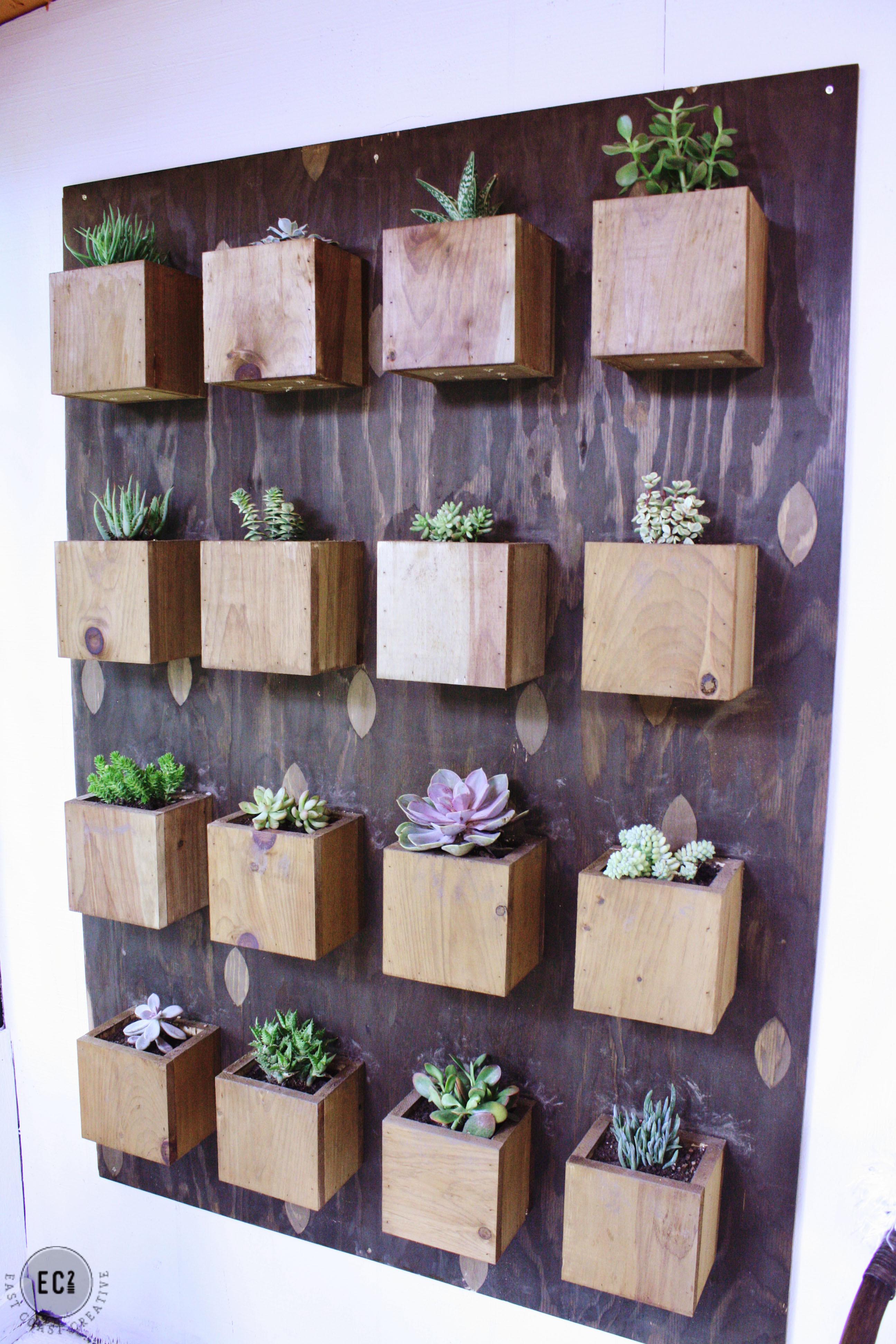 Best ideas about Diy Vertical Garden Wall . Save or Pin DIY Garden Wall – Urban Sunroom Makeover Now.