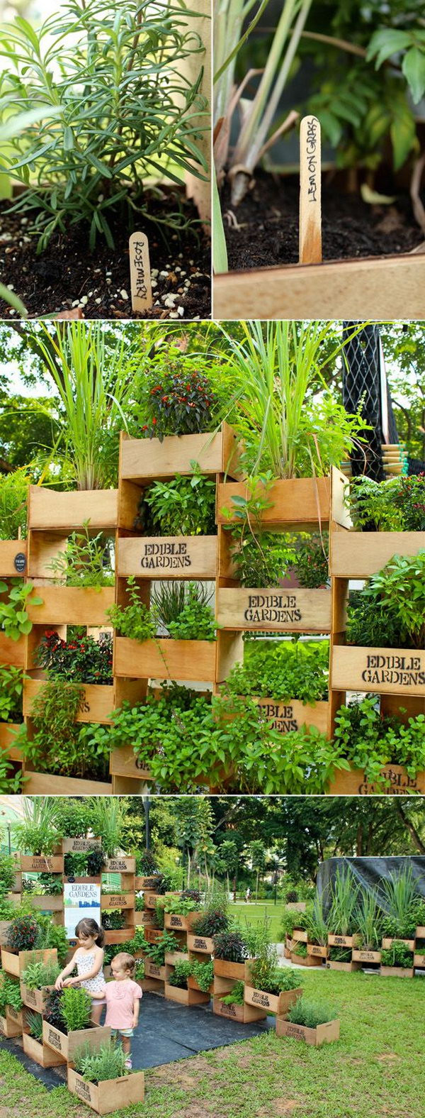 Best ideas about Diy Vertical Garden Wall . Save or Pin 20 Cool Vertical Gardening Ideas Hative Now.