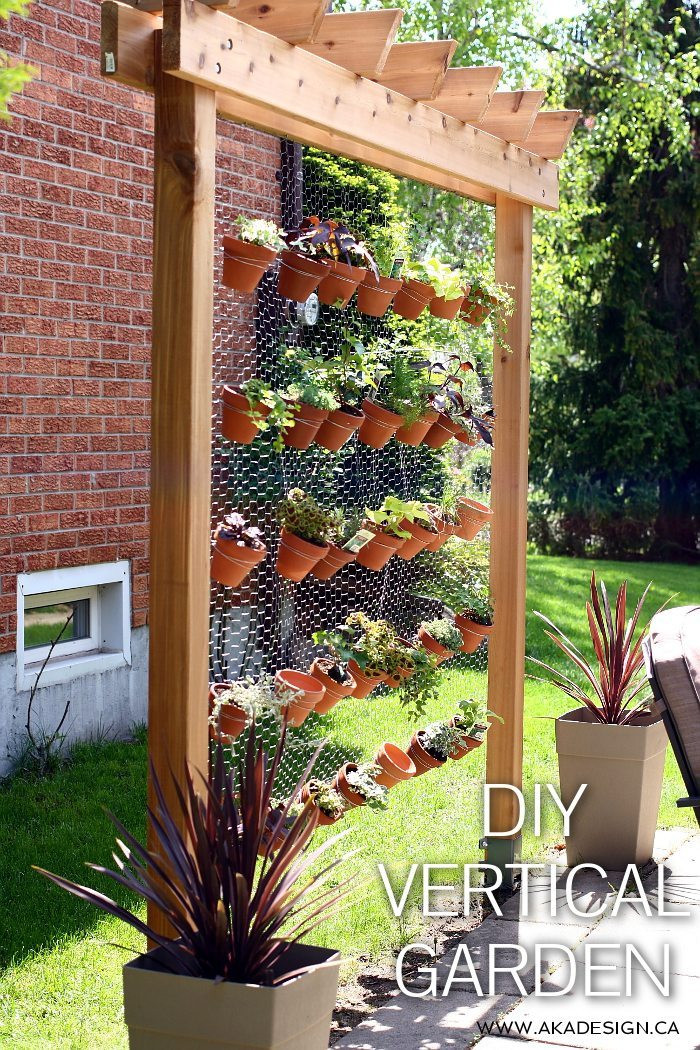 Best ideas about Diy Vertical Garden Wall . Save or Pin Grow Up with 15 Creative Ideas for Vertical Gardening Now.