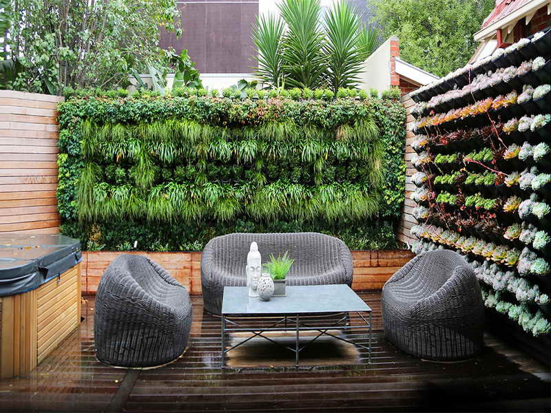 Best ideas about Diy Vertical Garden Wall . Save or Pin Ideas & Design DIY Indoor Vertical Garden Interior Now.