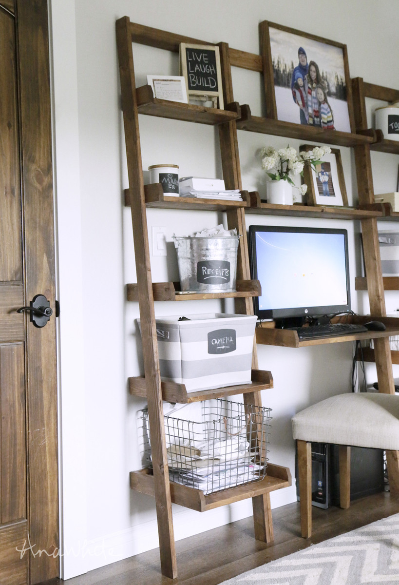 Best ideas about DIY Wall Bookshelf . Save or Pin Ana White Now.