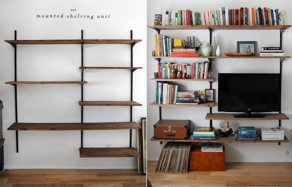 Best ideas about DIY Wall Bookshelf . Save or Pin DIY Bookshelf Ideas For Every Space Style And Bud Now.