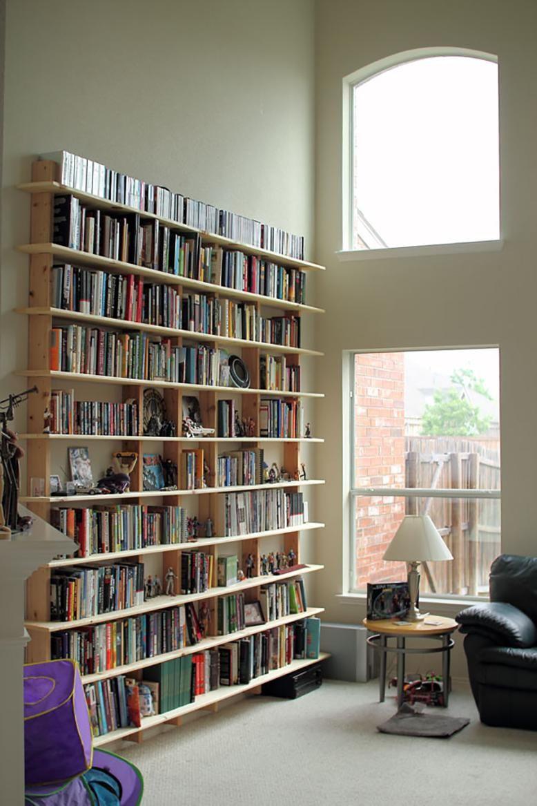 Best ideas about DIY Wall Bookshelf . Save or Pin DIY Bookshelves Now.