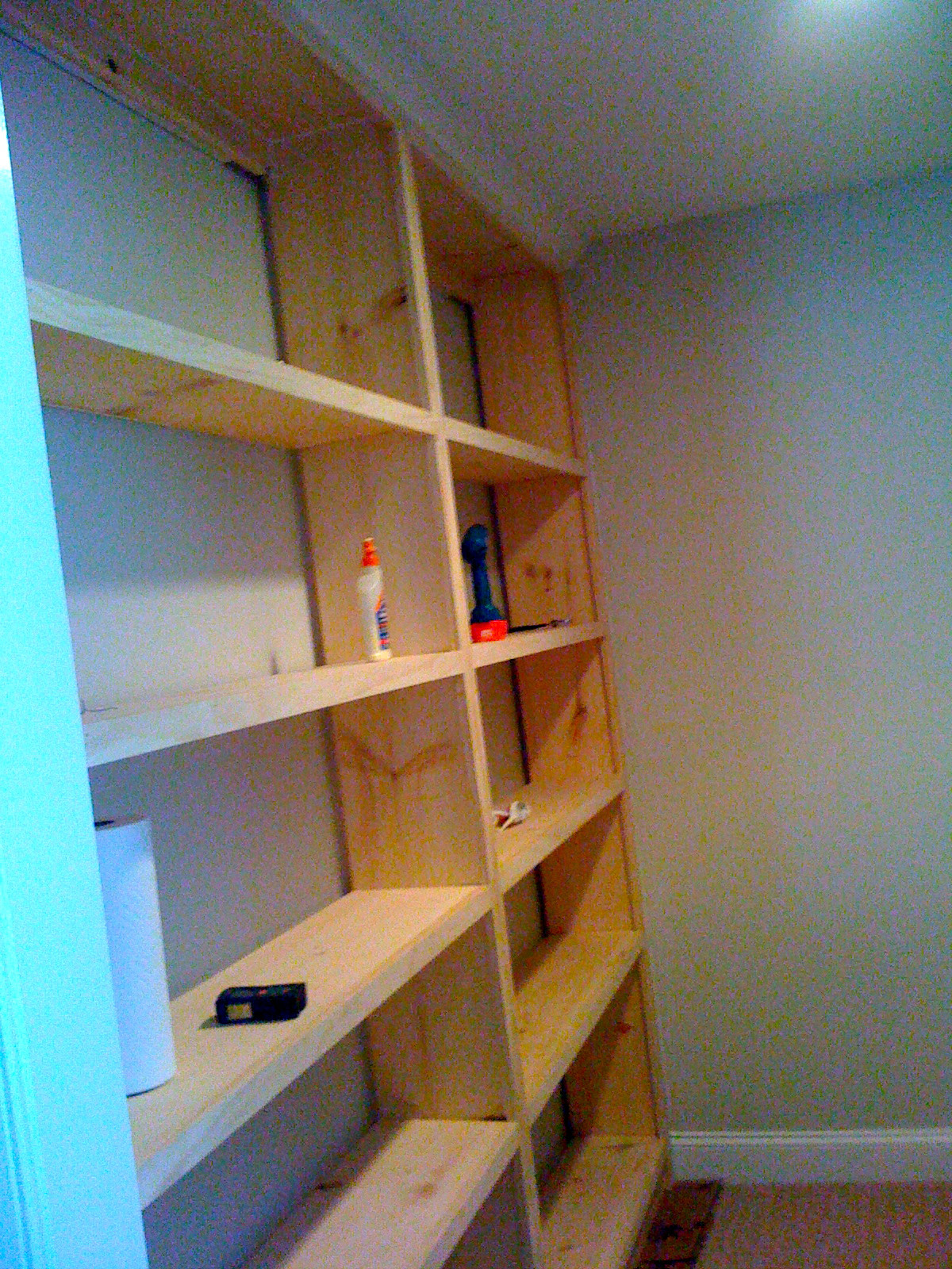 Best ideas about DIY Wall Bookshelf . Save or Pin Deux Maison Inspired to build DIY Built in Bookcase Now.