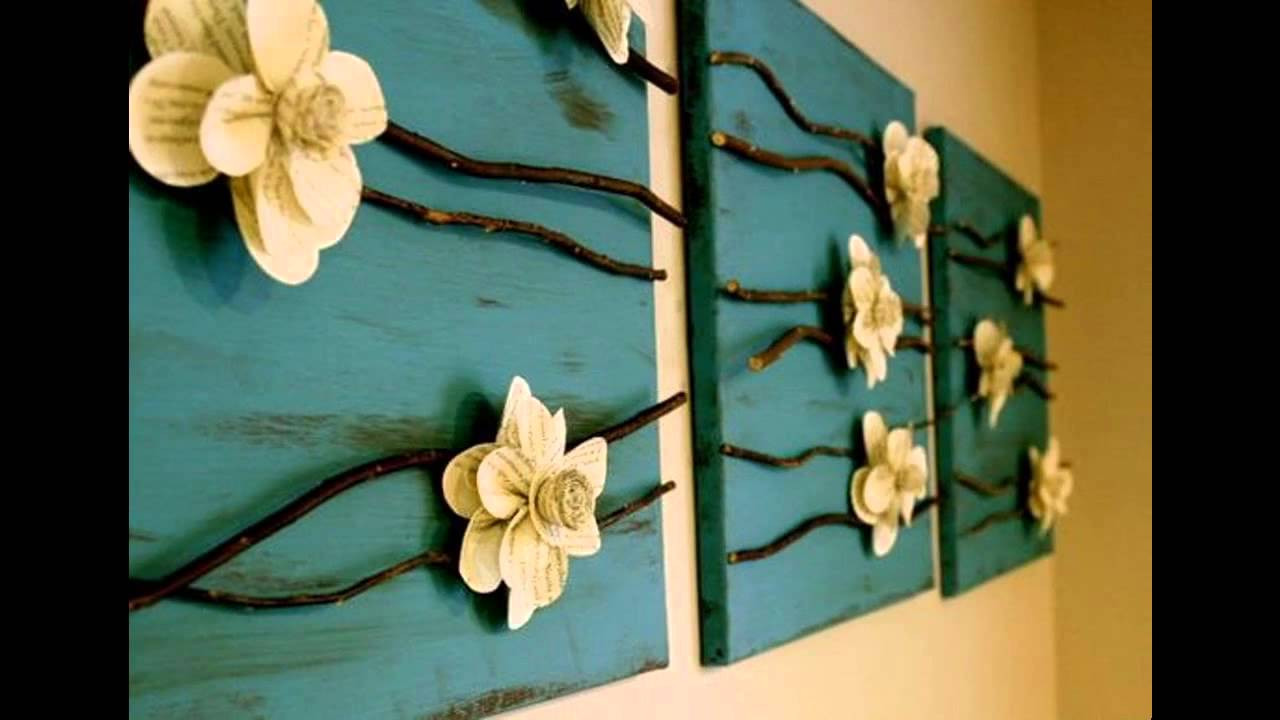 Best ideas about DIY Wall Decoration Ideas . Save or Pin Creative Wall decor ideas diy Now.