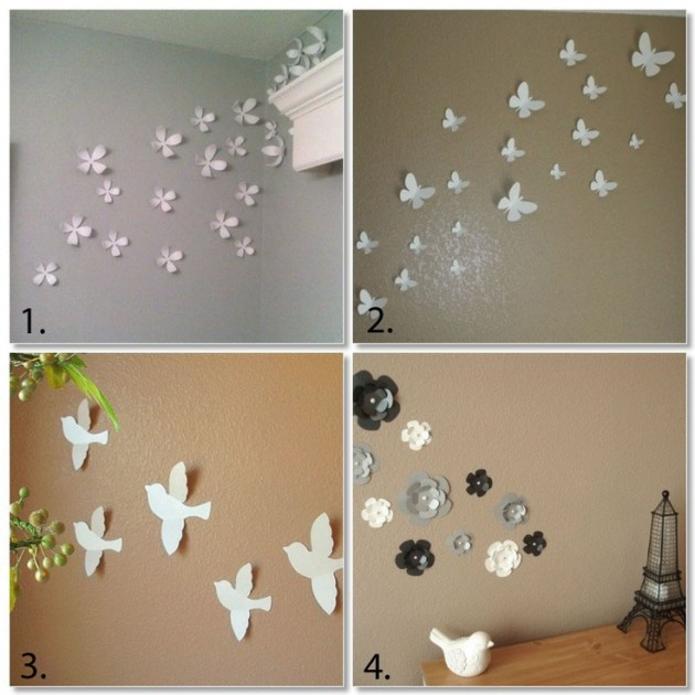 Best ideas about DIY Wall Decoration Ideas . Save or Pin 27 Amazing DIY 3D Wall Art Ideas Now.