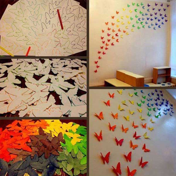 Best ideas about DIY Wall Decoration Ideas . Save or Pin 30 Cheap and Easy Home Decor Hacks Are Borderline Genius Now.